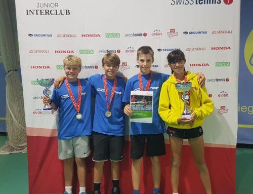 Zwei Schweizermeistertitel im Junioren Interclub!
