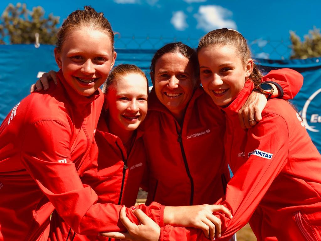 Sieg an der Qualifikationsrunde der Team EM